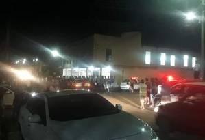 Atirador invade igreja evangélica, em Paracatu (MG), e mata quatro pessoas Foto: Reprodução