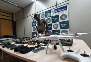 Acusado de recrutar integrantes de milícia, Zulu é preso em Santa Cruz Foto: Divulgação / Polícia Civil