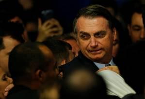 Presidente do Brasil, Jair Bolsonaro participa de cerimônia no Palácio do Planalto Foto: ADRIANO MACHADO 21-05-2019 / REUTERS