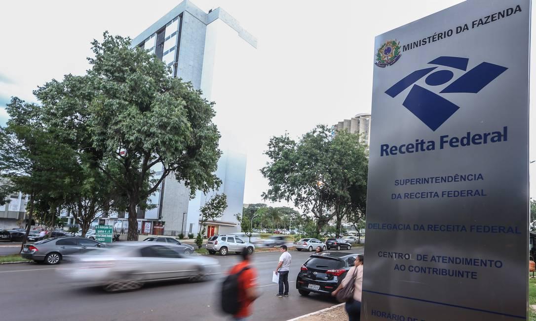 Sede da Receita Federal em Brasília Foto: André Coelho / Agência O Globo