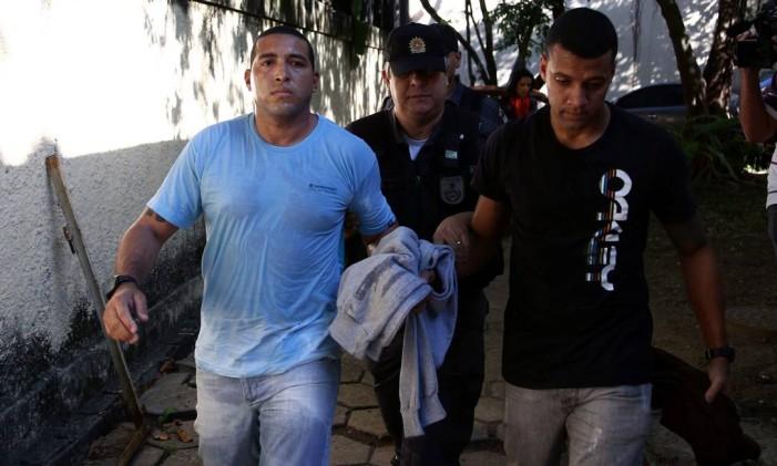 Os ex-policiais Fábio Magalhães e Vinícius Lima Foto: Thiago Lontra/22-7-2014 / Agência O Globo
