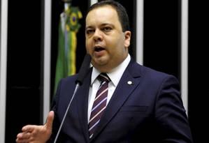 Deputado Elmar Nascimento (BA), líder do DEM na Câmara Foto: Alex Ferreira / Agência O Globo