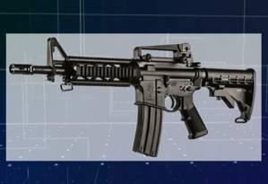 O fuzil T4 estava entre as que deixariam de ser de uso restrito Foto: Reprodução
