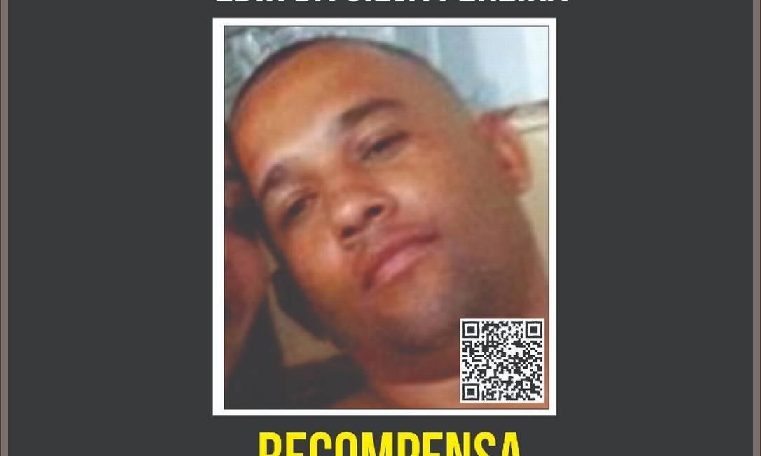 Edir é acusado de participação direta no assassinato do PM Anderson Azevedo Galvão Foto: Divulgação
