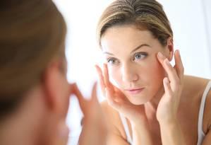 Estresse degrada o colágeno da pele Foto: Shutterstock