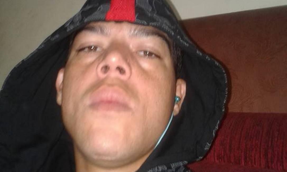 O lutator Igor Uriel, em foto de rede social Foto: Reprodução