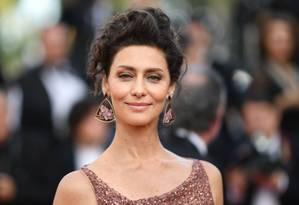 Mais uma brasileira brilhando em Cannes, dessa vez também nas telas. Maria Fernanda Cândido, que está no elenco de