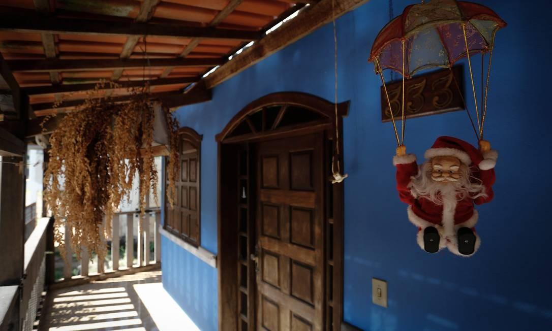 Casa abandonada no distrito de Socorro, em Barão de Cocais, Minas Gerais Foto: Pablo Jacob / Agência O Globo