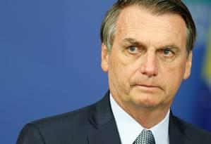 O presidente Jair Bolsonaro (PSL) Foto: ADRIANO MACHADO / REUTERS