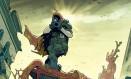 Nathan Cole, o herói que viaja entre dimensões de 'Oblovion song', novo trabalho de Robert Kirkman, com ilustrações do italiano Lorenzo de Felici Foto: Reprodução