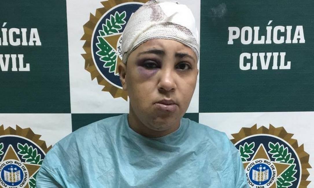 Beatriz Santana Honório, de 27 anos, era a mais procurada assaltante de ônibus de Caxias Foto: Divulgação