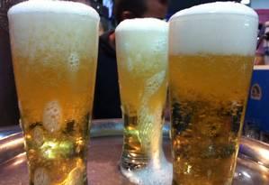 Cerveja gelada: americanos estão preferindo vinho e destilados. Foto: Arquivo