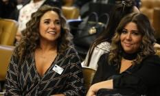A cantora Daniela Mercury e a companheira, Malu Verçosa, durante julgamento no Supremo Tribunal Federal Foto: FÁTIMA MEIRA/FUTURA PRESS / .