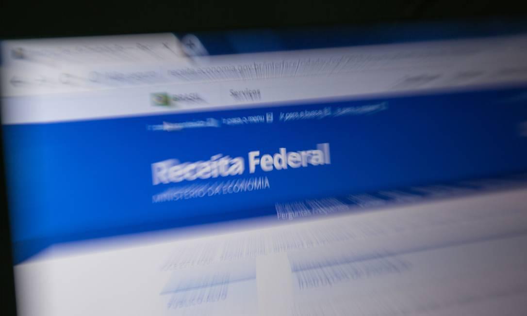 Receita Federal Foto: Brenno Carvalho / Agência O Globo