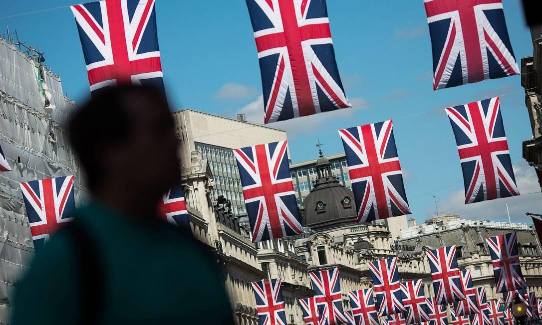 Em 23 de junho de 2016, em um referendo que terminou com 52% de votos a favor e 48% contra, os britânicos decidiram pôr fim a 43 anos de integração com a União Europeia Foto: Simon Dawson / Bloomberg