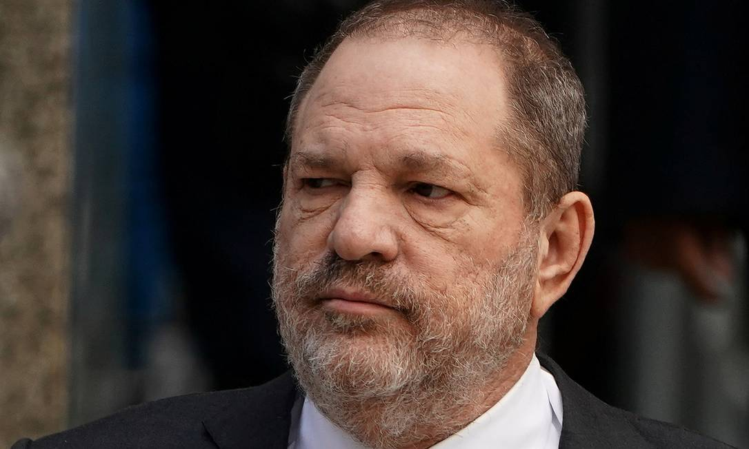 Harvey Weinstein durante audiência em Nova York, em janeiro de 2019 Foto: Carlo Allegri / REUTERS