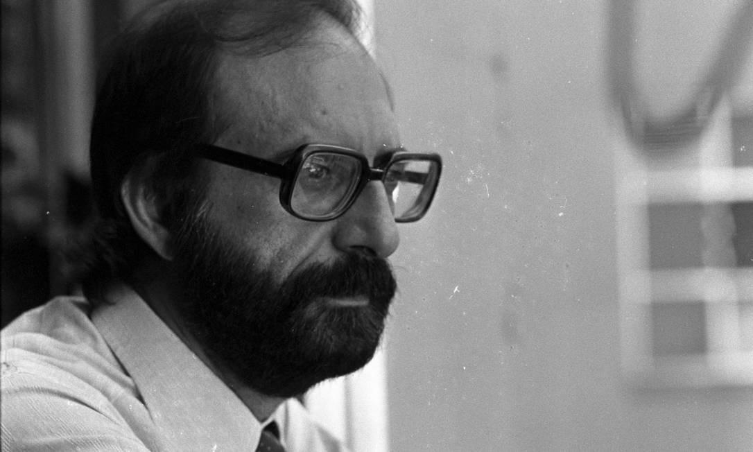 O jornalista Fuad Atala, ex-editor do GLOBO, em 1976 Foto: Luiz Pinto / Agência O Globo