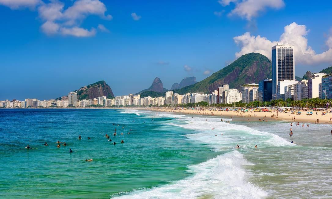 Imóveis próximos à praia, como no bairro de Copacabana, são queridinhos entre turistas Foto: Fotolia
