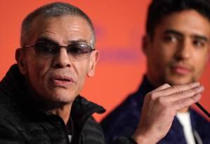 Abdellatif Kechiche se irrita com perguntas em coletiva do Festival de Cannes Foto: SEBASTIEN BERDA / AFP