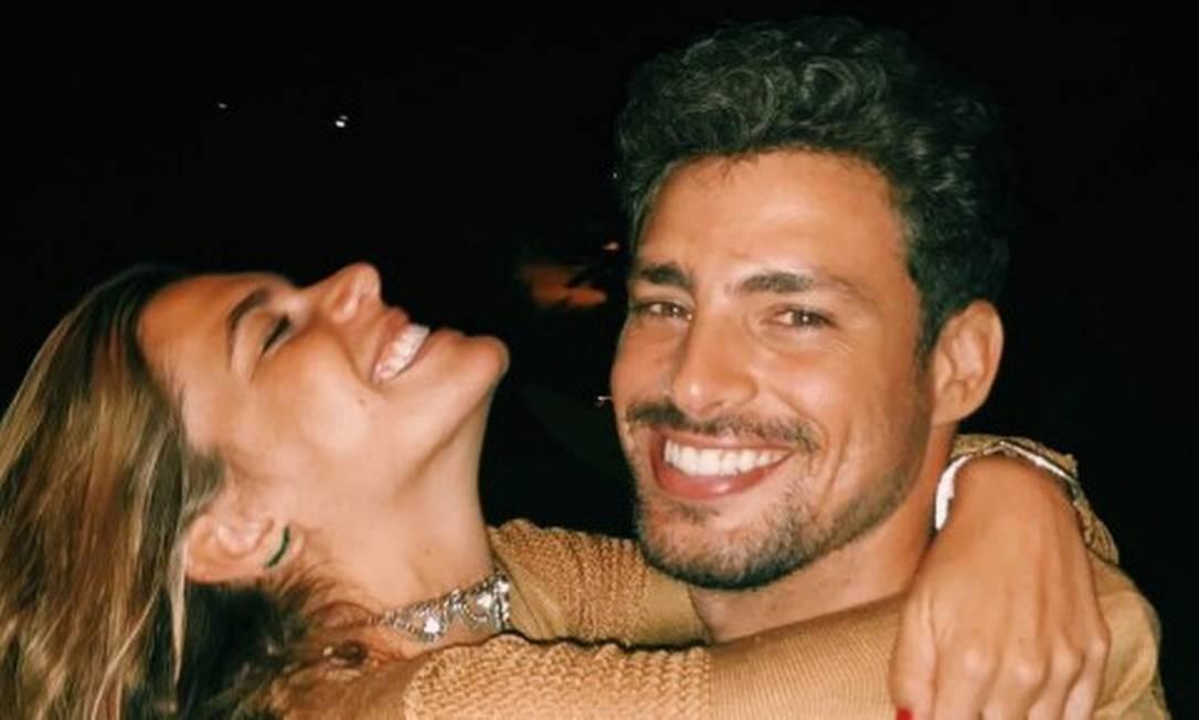 Mariana Goldfarb e Cauã Reymond Foto: Arquivo Pessoal