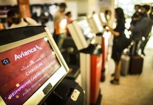 Agência Nacional de Aviação Civil (Anac) suspendeu temporariamente as operações da Avianca Brasil Foto: Guito Moreto / Agência O Globo