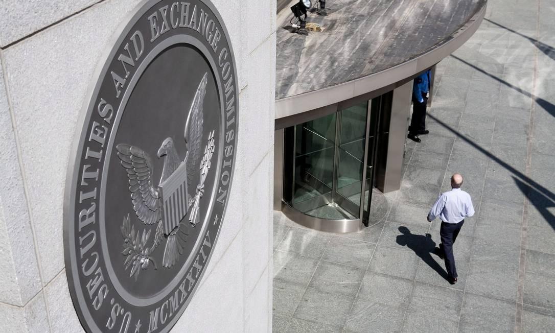 Sede da SEC na capital dos Estados Unidos: prêmio por denúncia. Foto: Brendan Hoffman / Bloomberg
