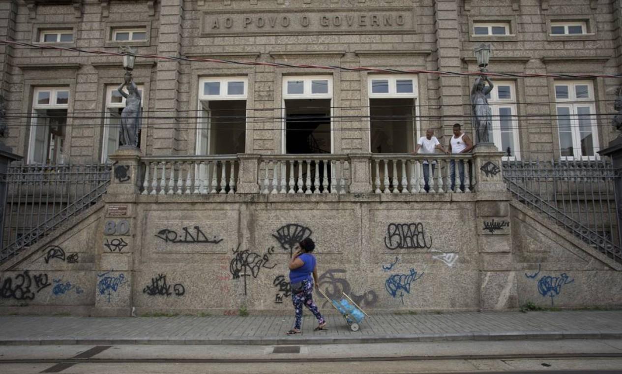 O Centro Cultural José Bonifácio. Abrigada em construção do século XIX, a instituição foi fundada em 2013 com objetivo de preservar a memória africana na cidade Foto: Márcia Foletto / Agência O Globo