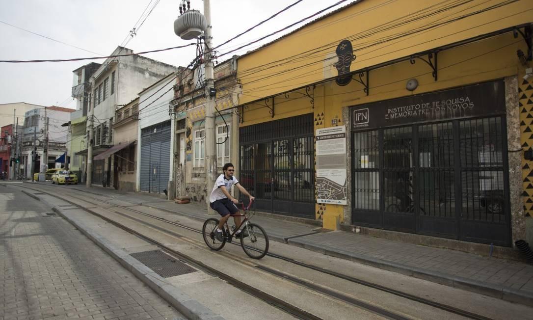 Sede do Instituto de Pesquisa e Memória Pretos Novos, na Rua Pedro Ernesto Foto: Márcia Foletto / Agência O Globo