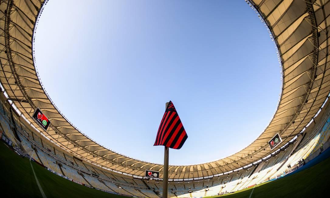Maracanã é gerido pelo Flamengo com o Fluminense Foto: Divulgação Flamengo