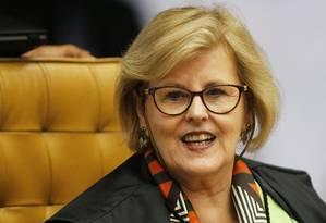 A ministra do Supremo Tribunal Federal, Rosa Weber, em 2018 Foto: Jorge William / Agência O Globo