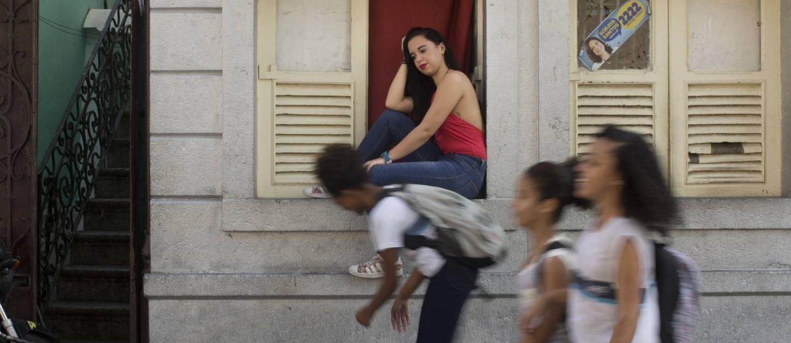 Maria Paula Gomes deixou a sala de aula aos 18 anos, em 2017, e não voltou mais Foto: Márcia Folleto