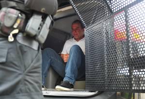 Cabral escreveu três resenhas sobre livros que leu enquanto esteve preso Paraná Foto: Jason Silva / Agência O Globo