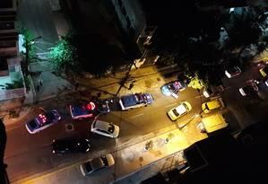 Perseguição policial na Tijuca termina com um homem preso Foto: Redes Sociais