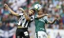 Roni foi preso sábado no jogo entre Botafogo e Palmeiras no estádio Mané Garrincha Foto: Jorge William / Agência O Globo