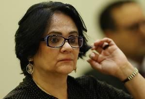 A Ministra dos Direitos Humanos, Danares Alves Foto: Jorge William / Agência O Globo