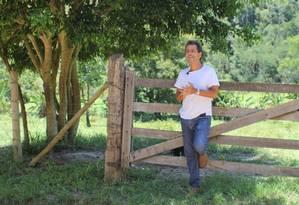 Marcos Palmeira tem segunda área de sua fazenda reconhecida como Reserva Particular do Patrimônio Natural Foto: Divulgação