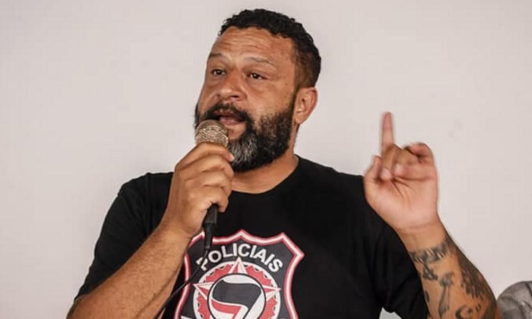 Alexandre Felix Campos, um dos representantes do Policiais Antifascismo Foto: Divulgação
