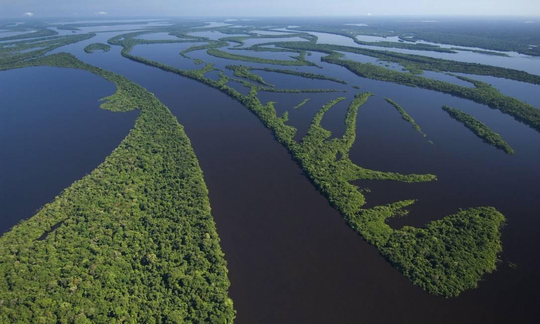 Arquipélago na Amazônia: 190 unidades de conservação da região recebem ações patrocinadas pelo Fundo Foto: Latinstock