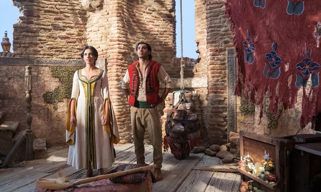Cena de Aladdin Foto: Daniel Smith/Divulgação