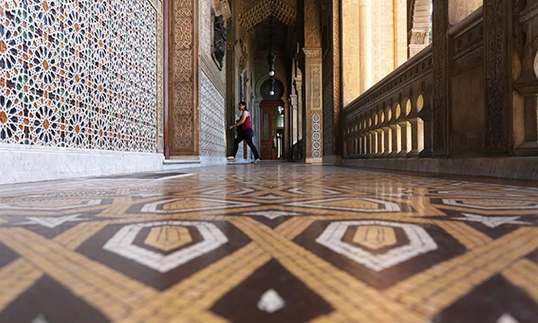 Interior do Castelinho da Fiocruz Foto: Custódio Coimbra / Agência O Globo