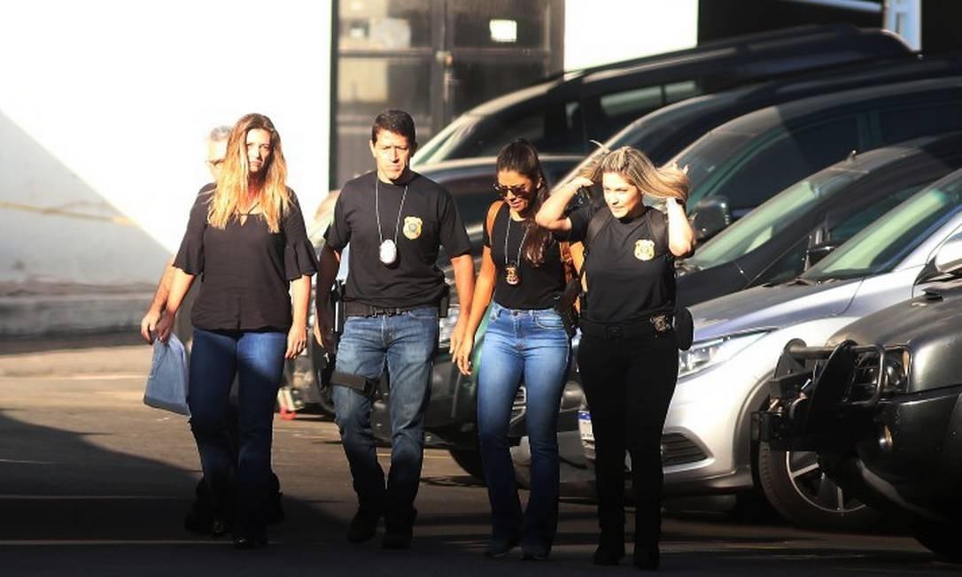Funcionários de banco e doleiro são alvos de mandados de prisão em nova fase da Lava-Jato no Rio. Foto: fabiano rocha / Agência O Globo
