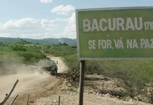 Cena de 'Bacurau', filme de Kleber Mendonça Filho e Juliano Dornelles Foto: Divulgação