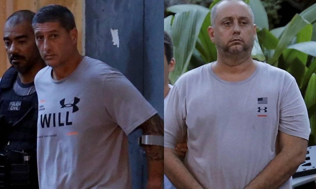 Ronnie Lessa e Elcio Queiroz estão presos desde março deste ano. Eles são apontados como os executores de Marielle Franco Foto: Marcelo Theobald / Agência O Globo