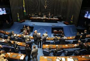 Senado analisa MP que estruturou o governo Bolsonaro Foto: Jorge William / Agência O Globo