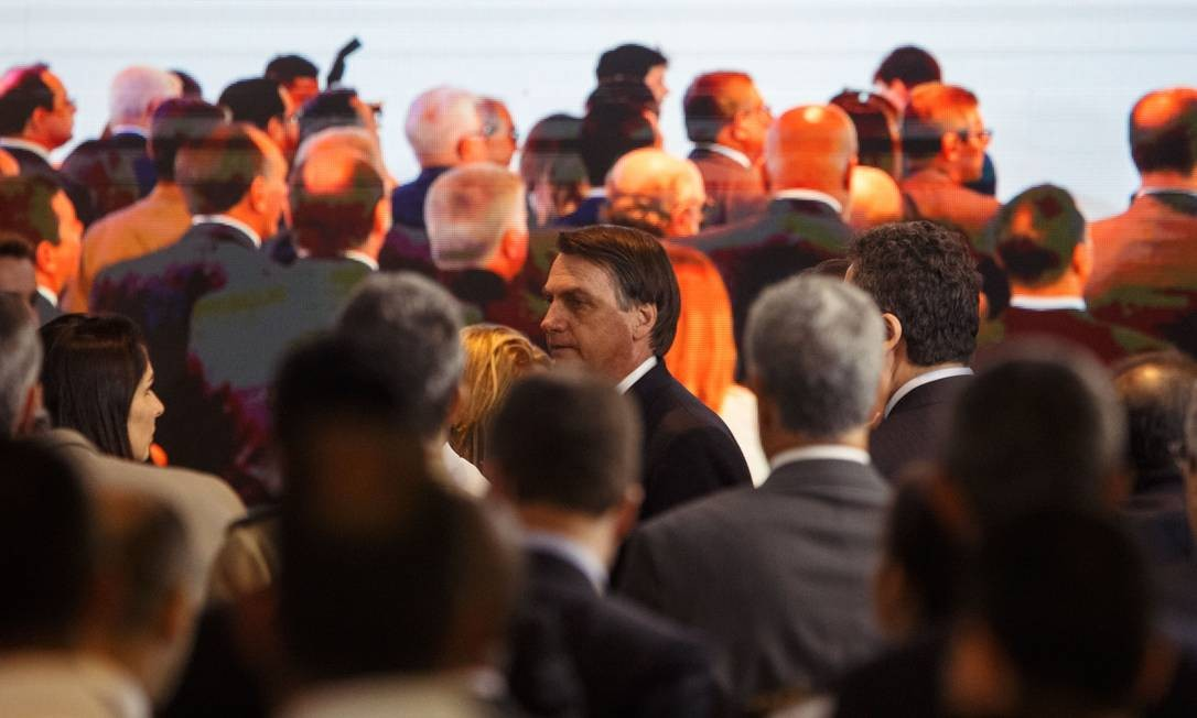 Lançamento da Frente Parlamentar Mista da Marinha Mercante Brasileira, em Brasília Foto: Daniel Marenco / Agência O Globo
