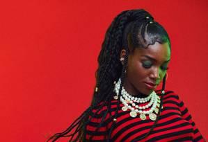 A cantora Iza: nova jurada do 'The voice Brasil' vai substituir Carlinhos Brown Foto: Pedrita Junckes / Divulgação