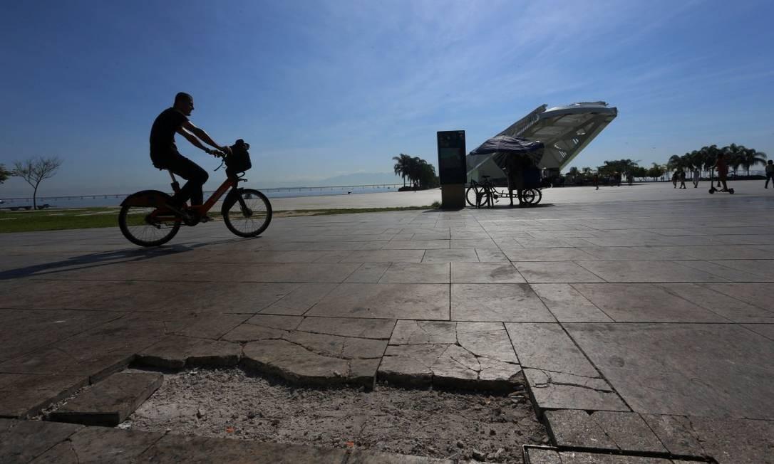 A Orla Conde foi construida para a Olimpíada de 2016 Foto: FABIANO ROCHA / Agência O Globo