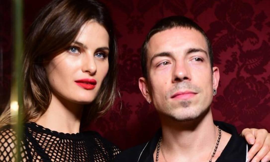 Isabeli Fontana e Di Ferrero: juntos há cinco anos Foto: Lu Prezia