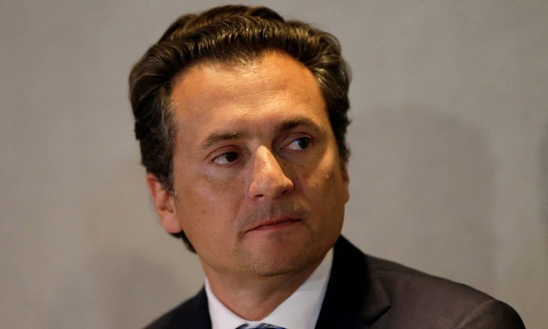 Emilio Lozoya, ex-presidente da Pemex, teve a prisão decretada Foto: Henry Romero / REUTERS