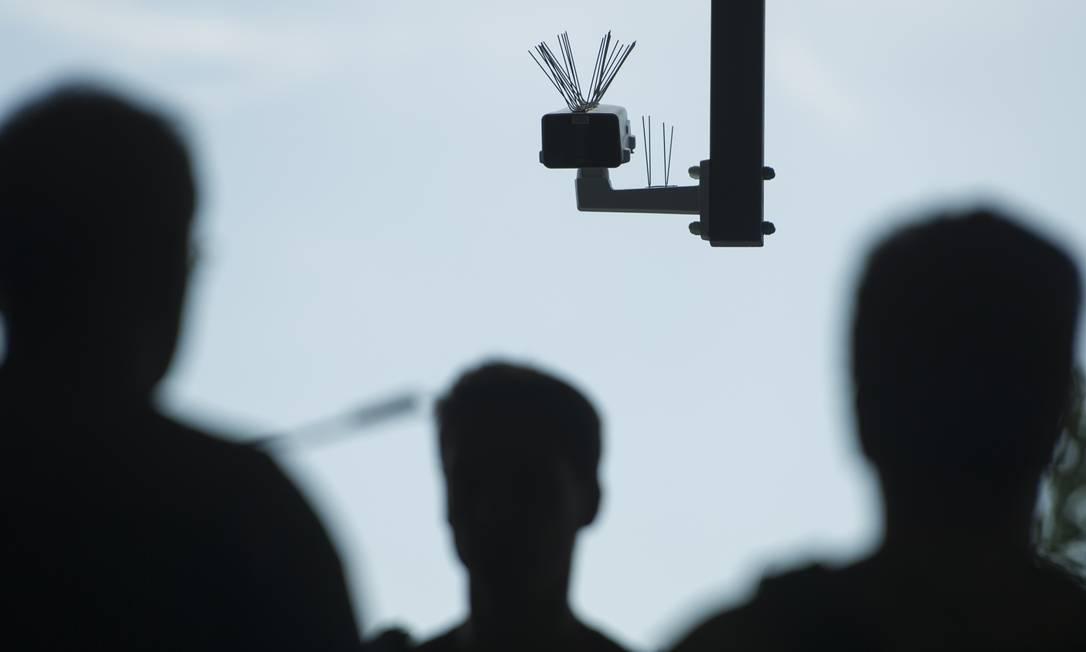Reconhecimento facial em Berlim, na Alemanha Foto: Steffi Loos / Getty Images